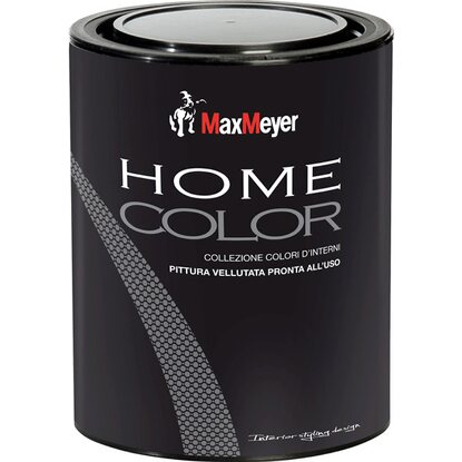MaxMeyer idropittura murale colorata Home Color argento 0,75 l