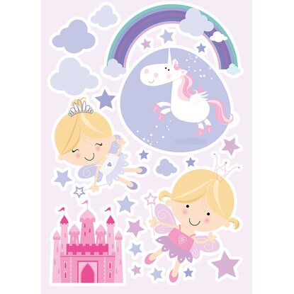 Decorazioni adesive per parete Happy Fairies