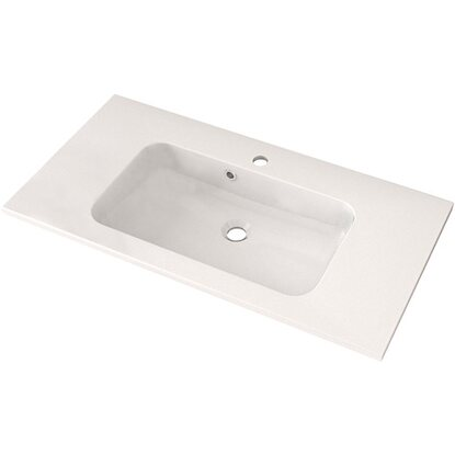 Lavabo in solid surface Friendly 90 cm