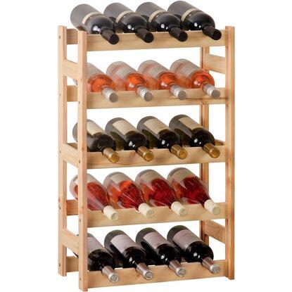 Obi cantinetta in legno per 20 bottiglie acquista da obi for Porta vino fai da te