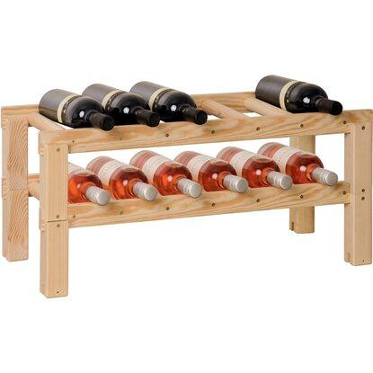 Obi cantinetta in legno per 6 bottiglie acquista da obi for Obi scaffali
