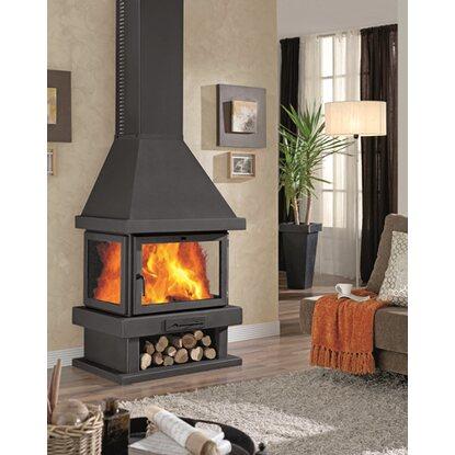 stufa a legna 15 kw copenhague acquista da obi. Black Bedroom Furniture Sets. Home Design Ideas