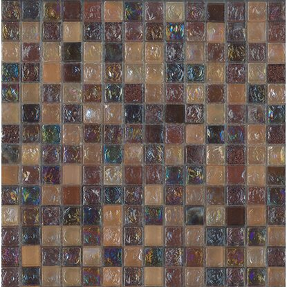 Mosaico decorativo Crystal ice brown 30,5 cm x 30,5 cm