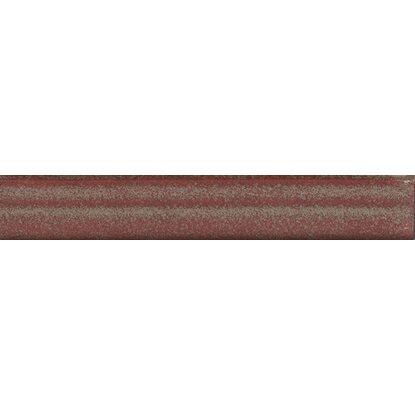 Torello Per Gradino Scala In Gres Porcellanato Rosso 5 Cm X 33 3 Cm