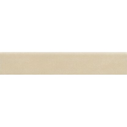 Battiscopa Glamour in gres porcellanato crema 8 cm x 45 cm