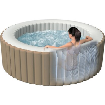 Intex piscina pure spa bubble therapy 216 cm x 71 cm for Intex piscine catalogo