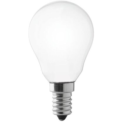 Lampada a LED Wireled E14 sfera opale 4 W 2700 K