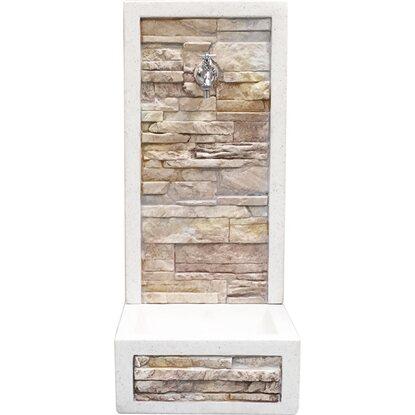 Fontana a muro brembo anticata acquista da obi for Fontane da giardino obi