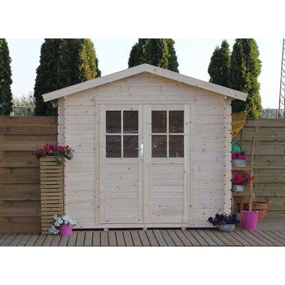 Casetta blockhouse in legno adele acquista da obi for Casetta in legno bricoman