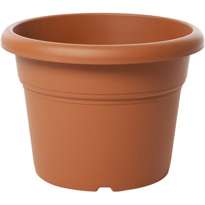 Vaso cilindro Unica 30 cm colore terracotta light