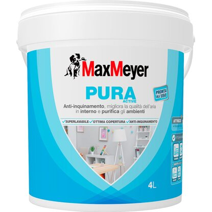 MaxMeyer idropittura superlavabile Pura Active 4 l