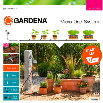 Gardena Start Set per vasi M automatic
