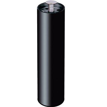 Set piedini tondi per letto in acciaio nero 30 cm x 5 cm x 5 cm acquista da obi - Gambe per mobili ikea ...