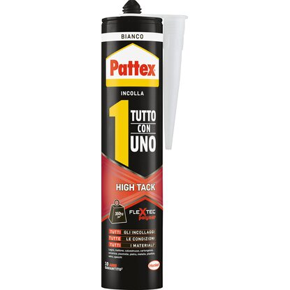 "Pattex colla ""Tutto con 1"" High Tack bianca 460 g"