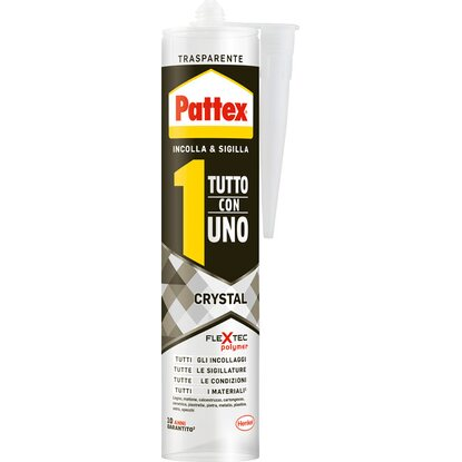 "Pattex colla ""Tutto con 1"" Crystal 290 g"