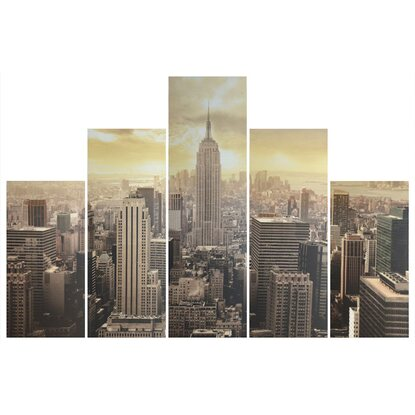 Canvas multiplo 5 pz New york