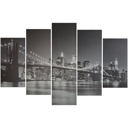 Canvas multiplo 5 pz Brooklyn