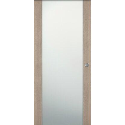 Porta scorrevole esterna vetrata reversibile manaslu for Porta esterna