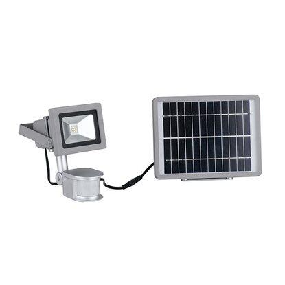 Con Lm 9w 5000k 620 Faro Silver Ip44 E Sensore Elios Pannello Solare Led LjqSVMpUGz