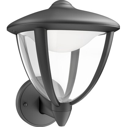 Philips applique LED Robin nero con sensore
