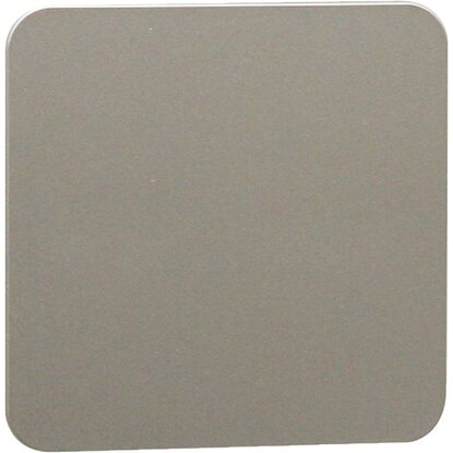 Pomolo quadro in abs interasse 32/64 mm cromo matt