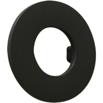 Pomolo tondo Ø 98 mm in abs interasse 64 mm nero