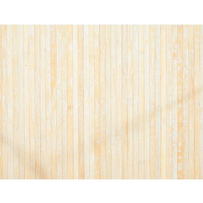 Tappeto Style in bamboo colore naturale 50x280 cm