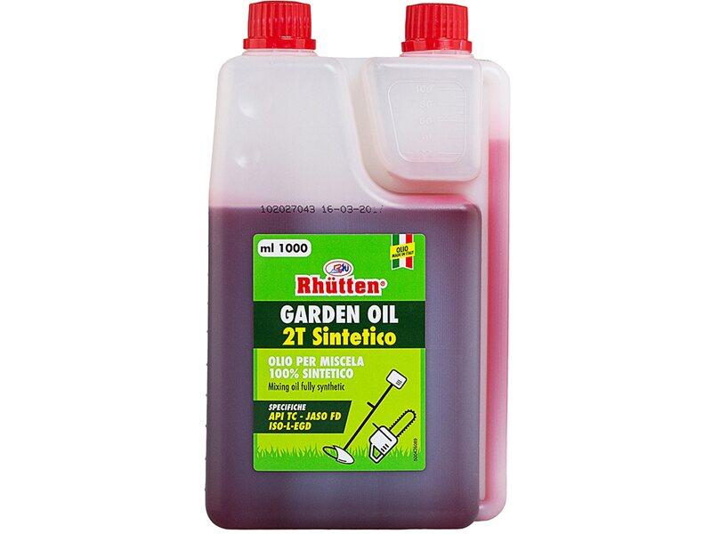 Olio garden sintetico 2T con dosatore 1 l