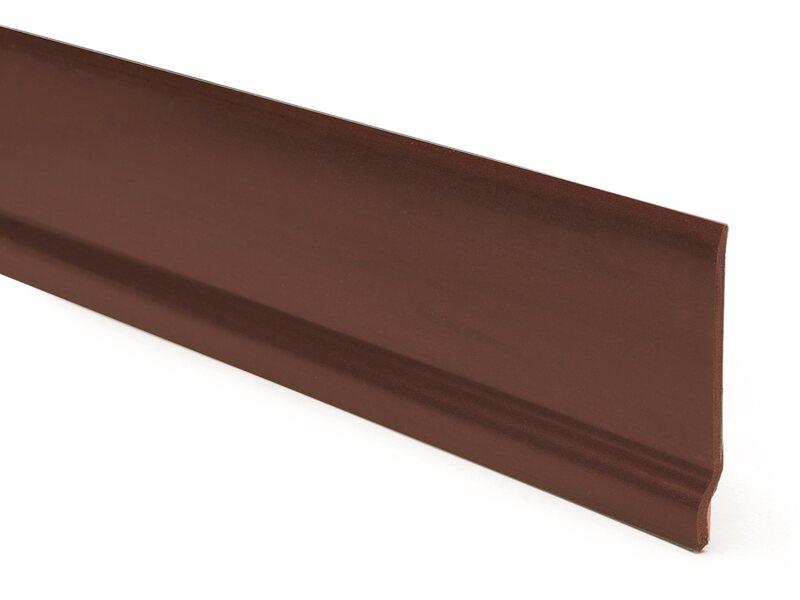 Battiscopa in pvc mogano 7 cm acquista da obi for Obi taglio legno