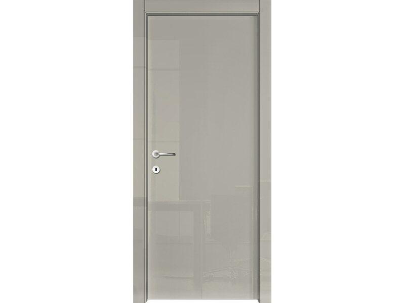 Porta a battente reversibile mirror tortora lucido 210 cm x 60 cm acquista da obi - Porte da interno obi ...