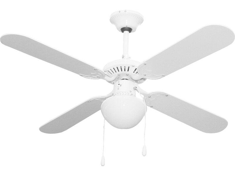 Ventilatore a soffitto niklas fly t 105 cm acquista da obi for Ventilatori da soffitto obi