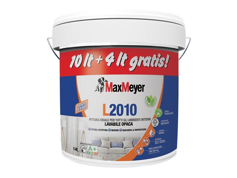 Pittura Lavabile Per Interni Sikkens.Maxmeyer Idropittura Lavabile L 2010 14 L