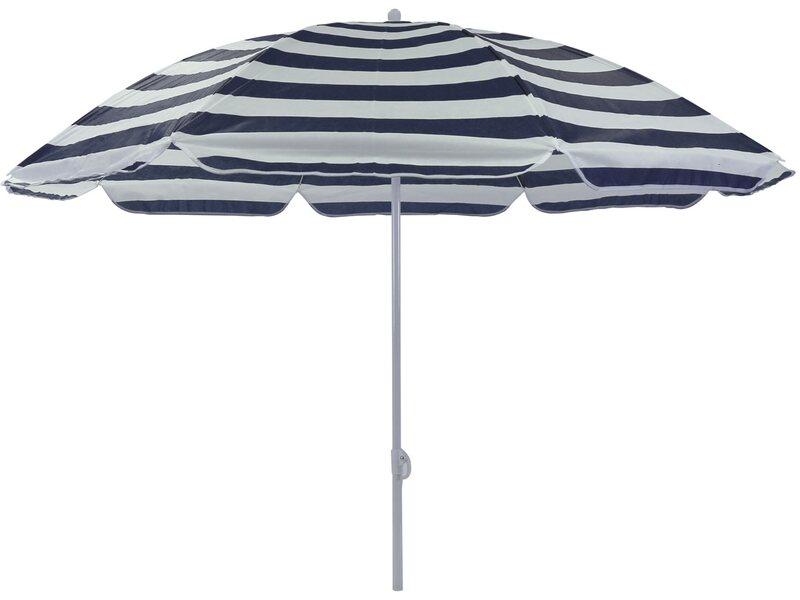 Vendita Ombrelloni Da Mare Roma.Ombrellone Spiaggia Sun Stripes D 180 Cm