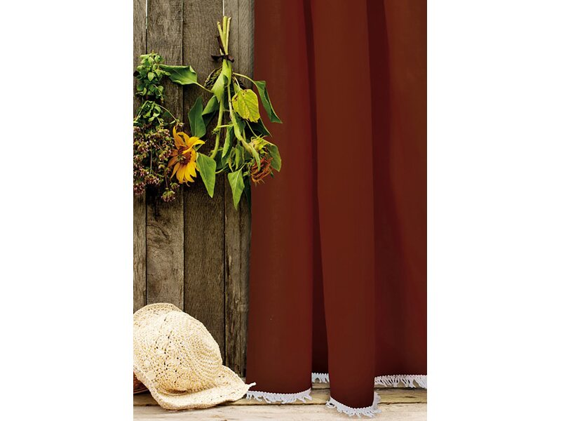 Tenda da sole dakar cotone marrone 150 cm x 250 cm for Tende da sole per esterni obi