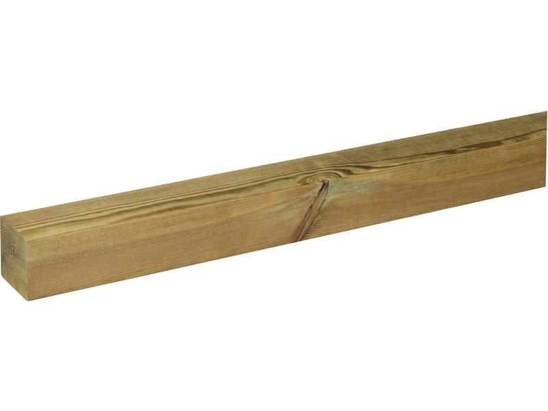 Palo quadro sagomato per recinzione acquista da obi for Recinzioni in legno obi