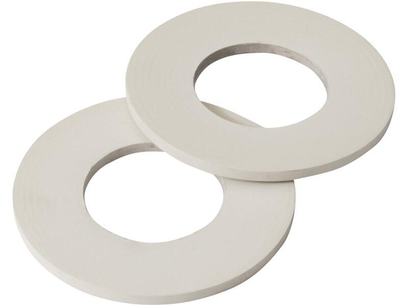 Guarnizioni piane in gomma per lavabo 3 4 x 2 mm 2 pz - Piane del bagno ...
