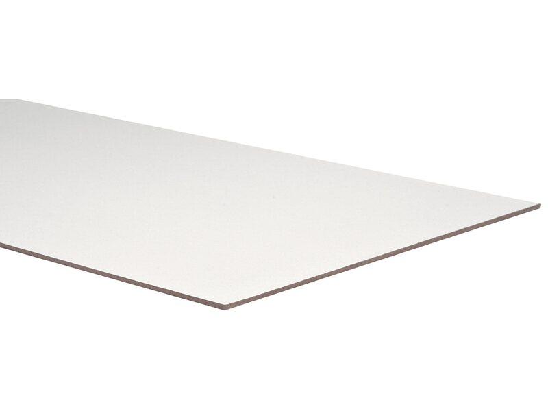 Pannello faesite bianca pretagliata 101 cm x 60 cm for Obi pannelli legno