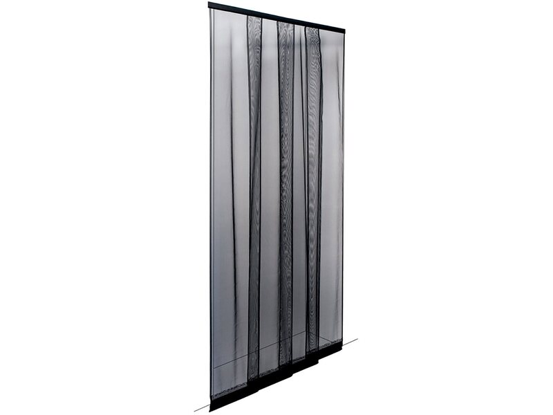 Irs zanzariera a strisce ecco strip 140 cm x 250 cm nera - Zanzariera ikea per finestre ...