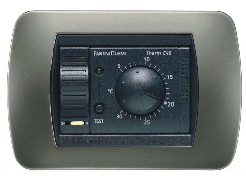 fantini cosmi termostato ambiente da incasso acquista da obi