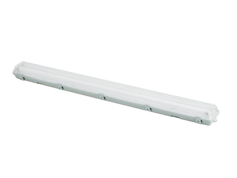Plafoniere Neon 120 Cm : Plafoniera a tenuta stagna 36 w lunghezza 126 5 cm 2 neon acquista