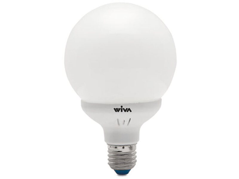 Lampade A Globo A Risparmio Energetico : Lampada a risparmio energetico classic globo w k acquista