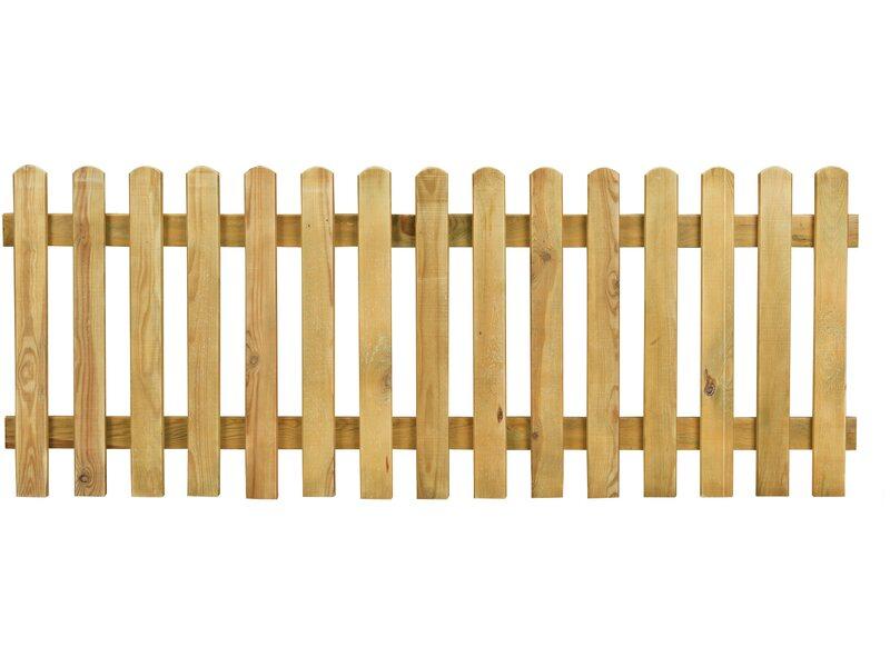 Recinzioni arelle e reti ombreggianti da obi for Staccionata in legno brico