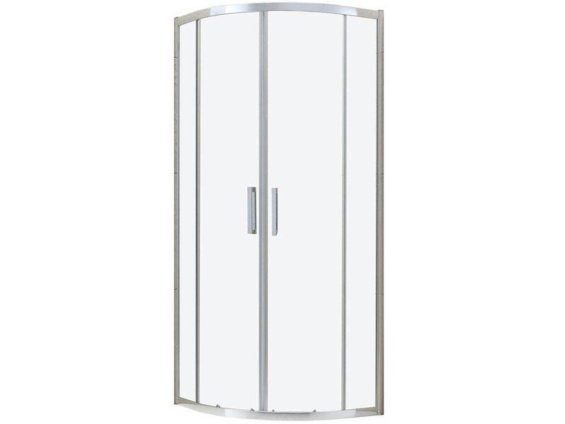 Box doccia semicircolare london 90 cm x 90 cm x 200 cm for Box doccia obi
