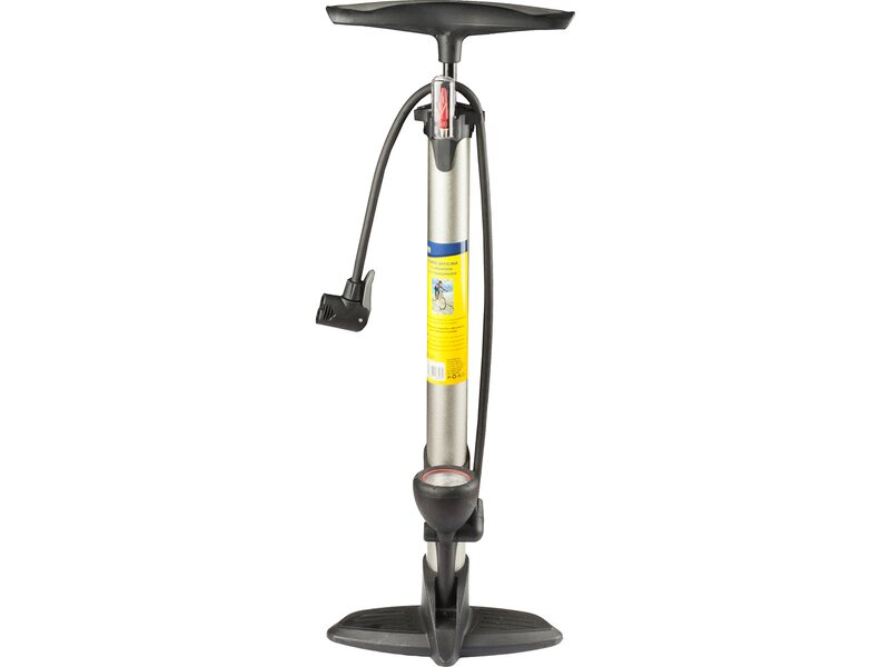 Pompa per bicicletta in alluminio con manometro acquista for Tagliaerba obi