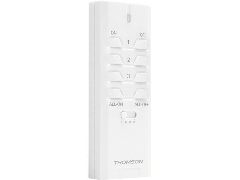 Thomson telecomando per illuminazione ventilazione for Ventilatori da soffitto obi