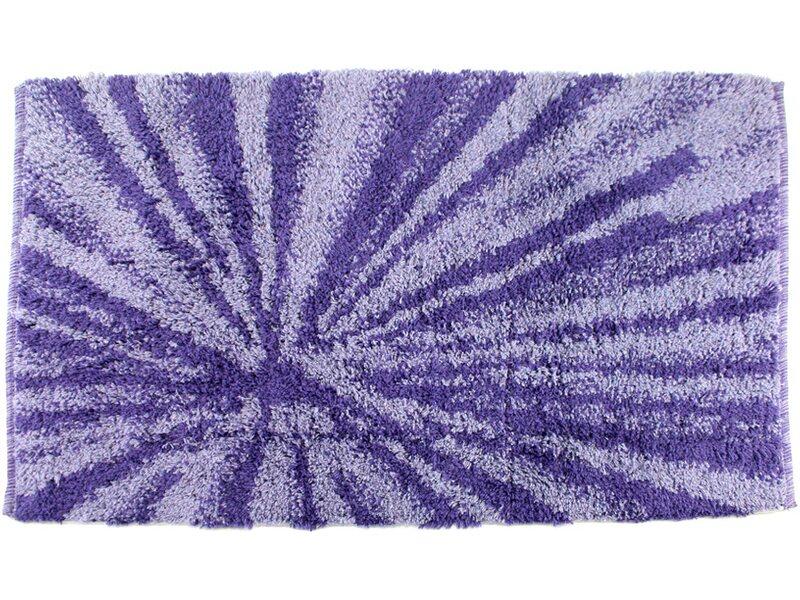 Tappeto bagno luise velluto 50 cm x 80 cm viola acquista da obi - Tappeto bagno viola ...