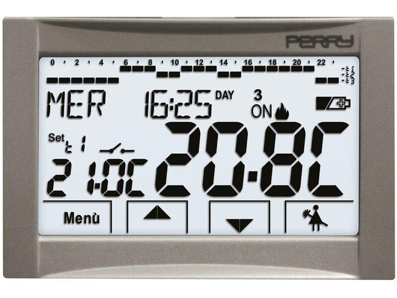Perry cronotermostato touch screen lcd acquista da obi for Obi cronotermostato