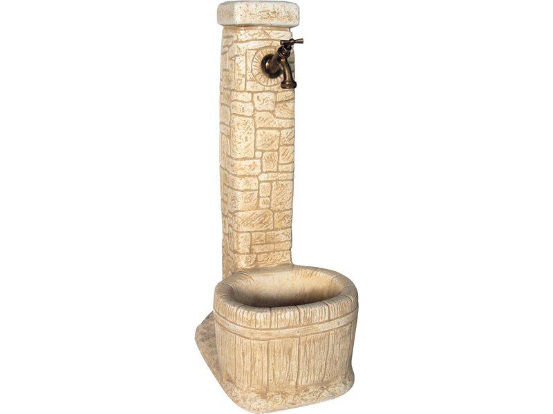 Fontana vedovella lucca nocciola acquista da obi for Fontane da giardino obi