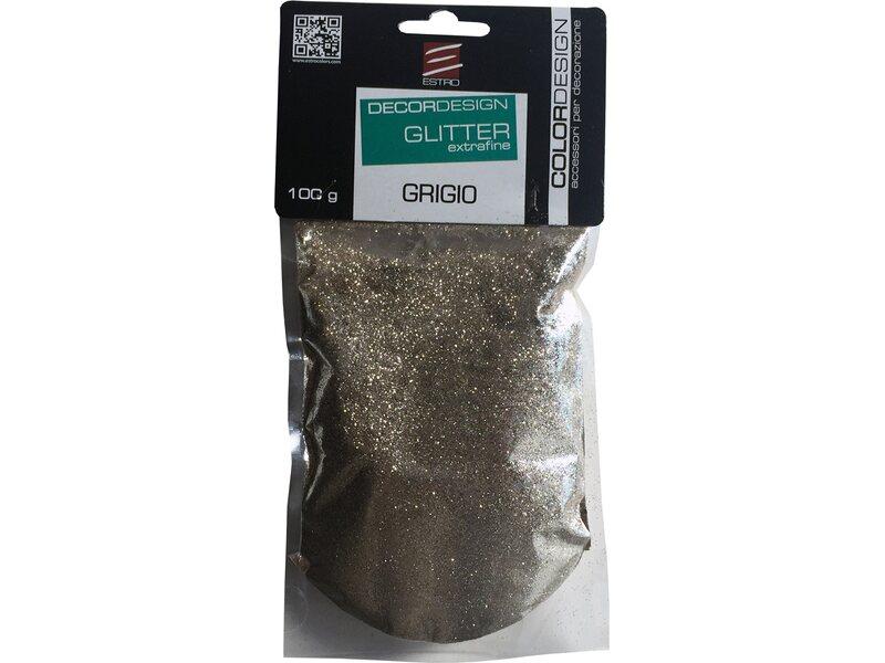 Pareti Grigie Con Glitter : Glitter in polvere grigio 100 g acquista da obi