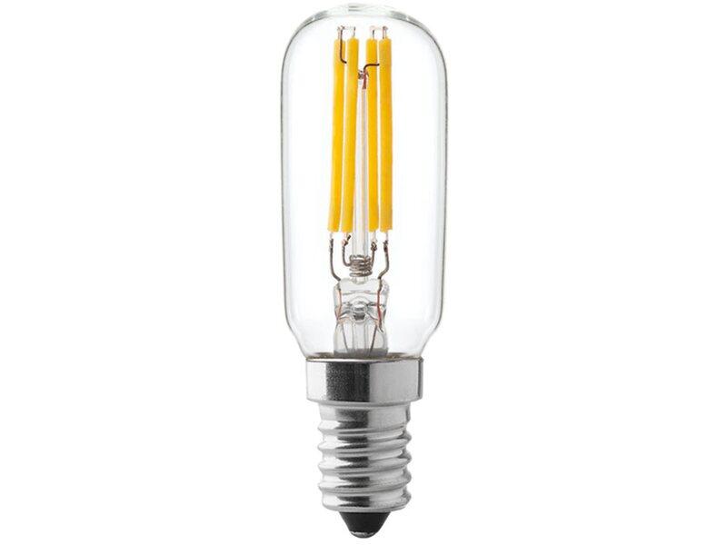 Lampada Tubolare E14 : Lampadina candela smerigliata e simde srl
